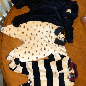 Ralph Lauren 3m sleeper outfit lot baby boy
